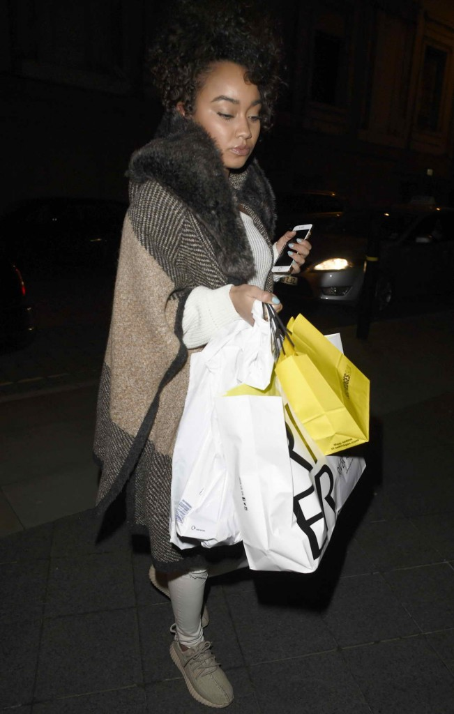 Leigh-Anne Pinnock Returning to Her Hotel in Manchester 03/25/2016-1