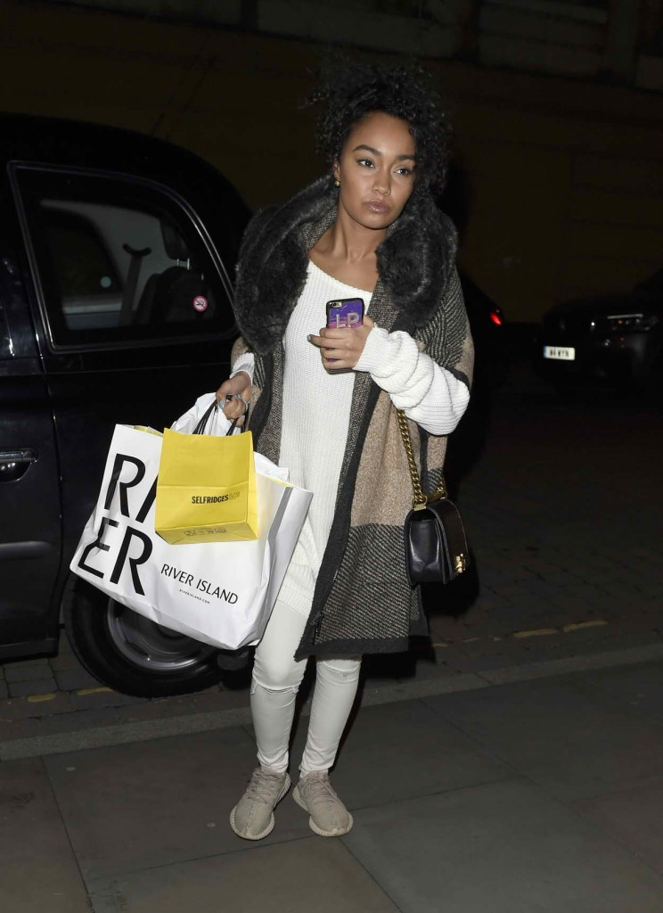 Leigh-Anne Pinnock Returning to Her Hotel in Manchester 03/25/2016-2