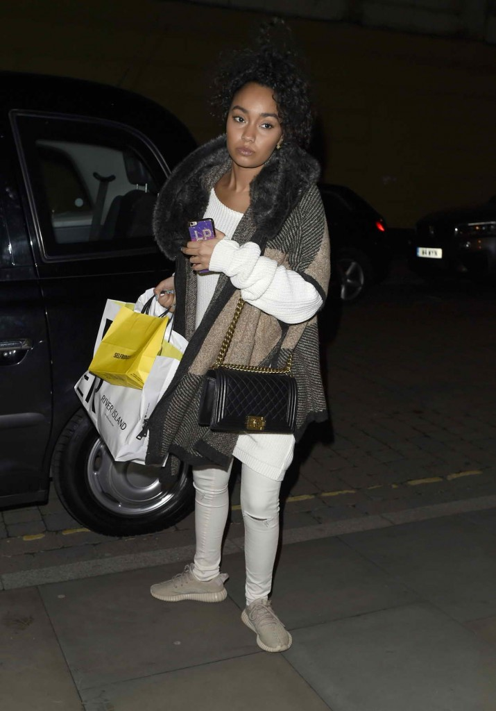 Leigh-Anne Pinnock Returning to Her Hotel in Manchester 03/25/2016-3
