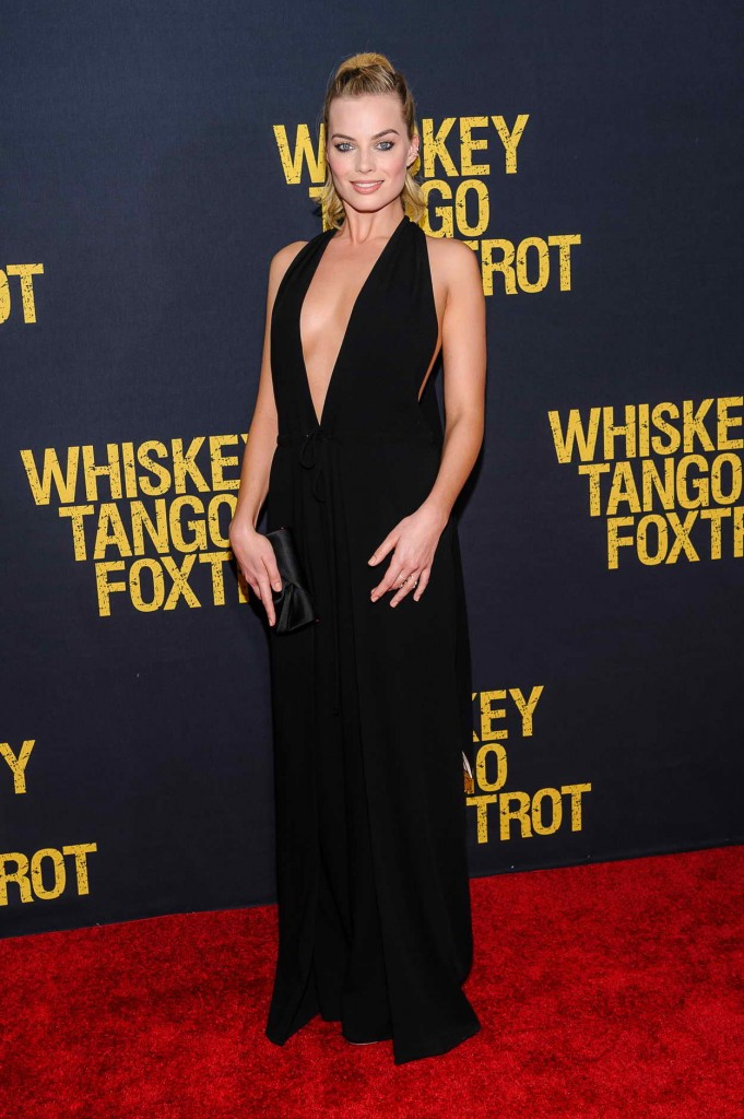 Margot Robbie at Whiskey Tango Foxtrot Premiere in NYC 03/01/2016-1