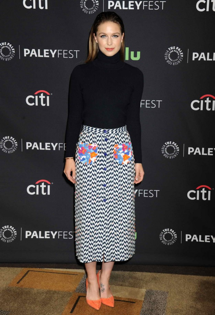 Melissa Benoist for Media's 33rd Annual Paleyfest Los Angeles Supergirl in Hollywood 03/13/2016-1