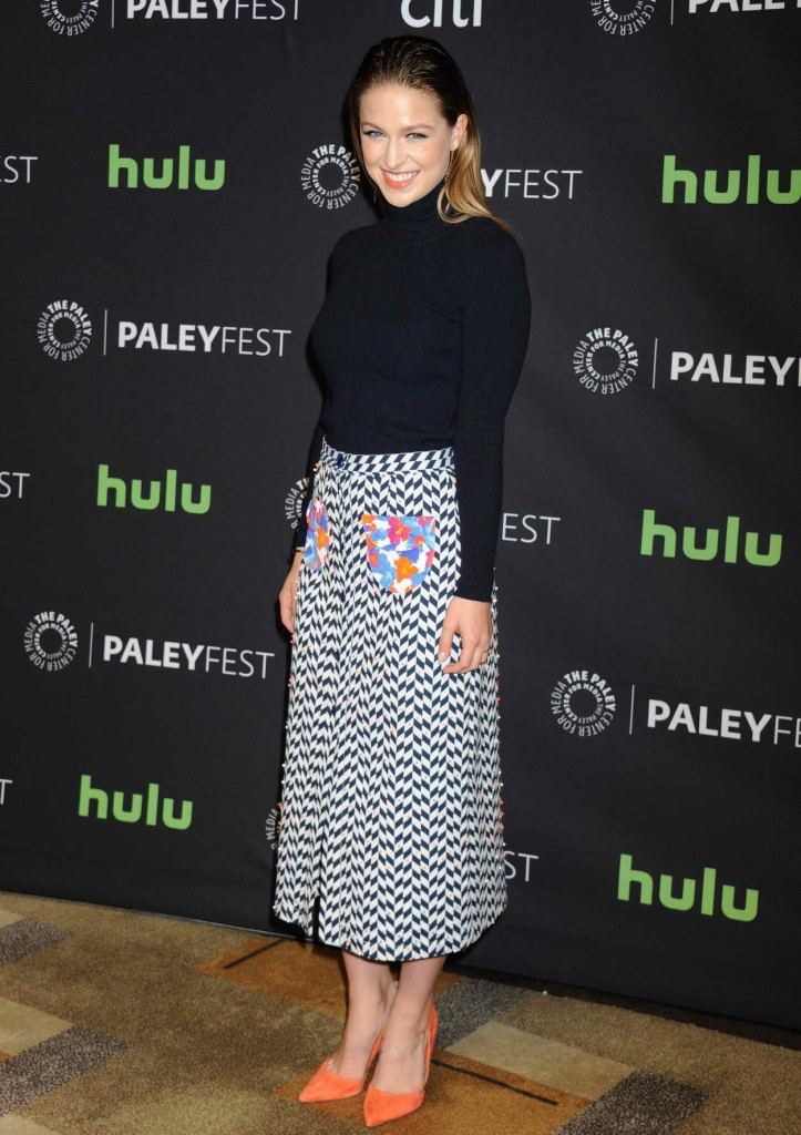 Melissa Benoist for Media's 33rd Annual Paleyfest Los Angeles Supergirl in Hollywood 03/13/2016-2