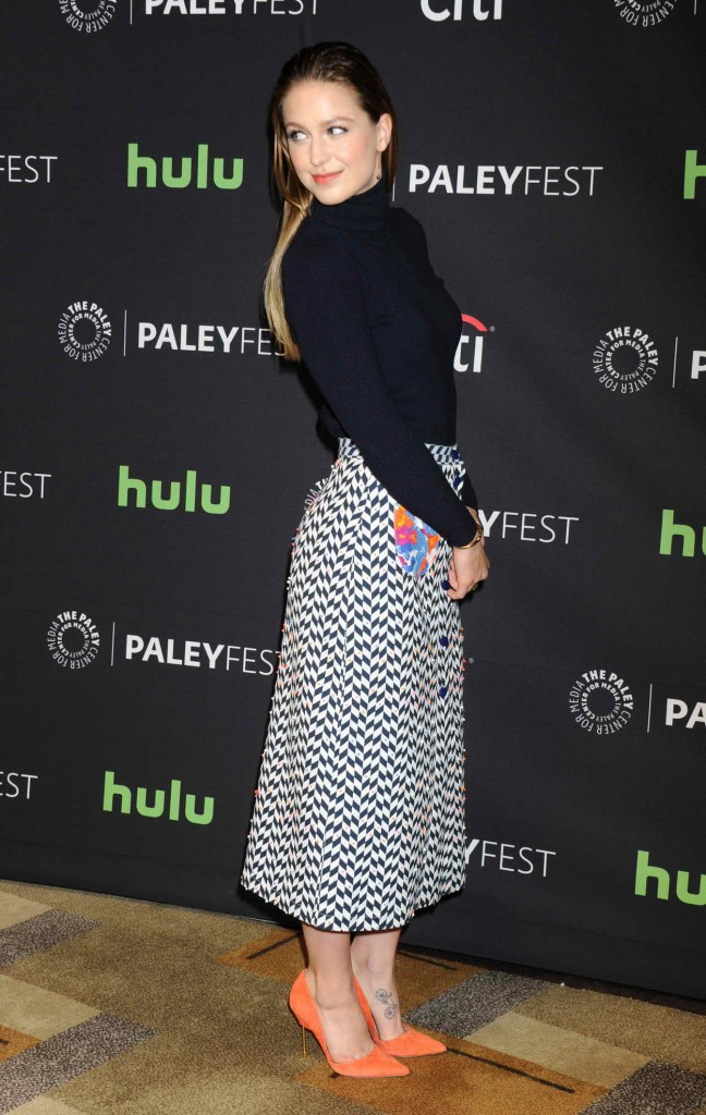 Melissa Benoist for Media's 33rd Annual Paleyfest Los Angeles Supergirl in Hollywood 03/13/2016-3