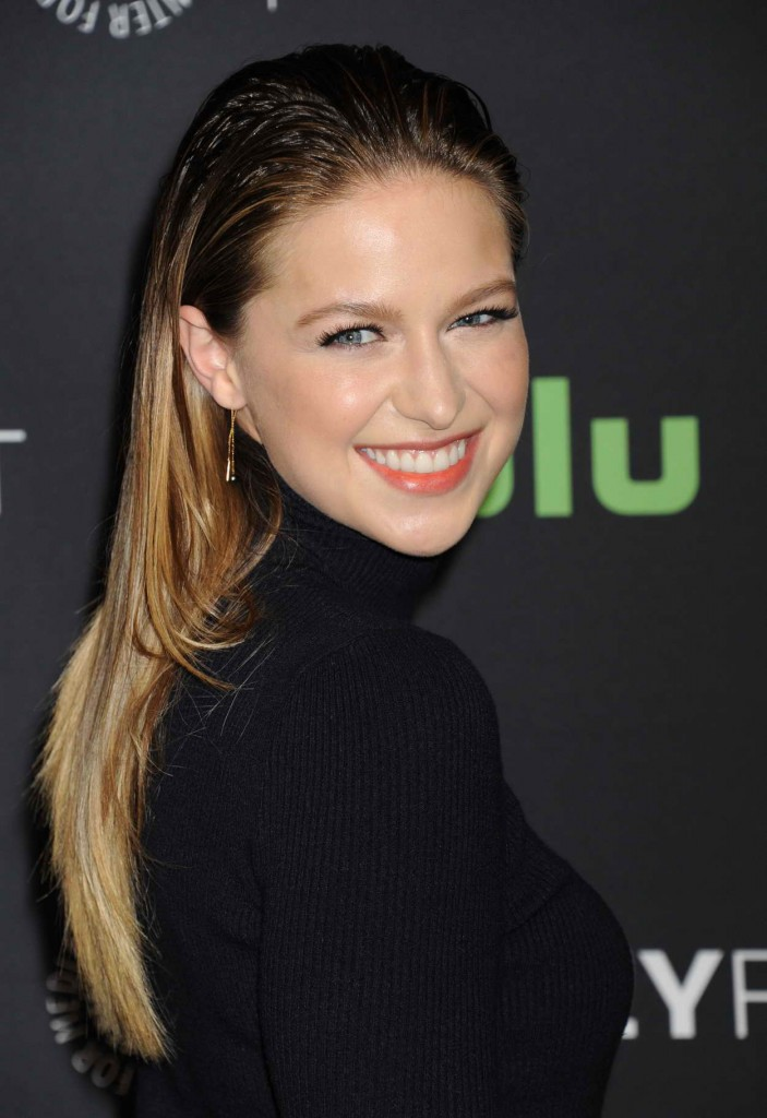 Melissa Benoist for Media's 33rd Annual Paleyfest Los Angeles Supergirl in Hollywood 03/13/2016-4