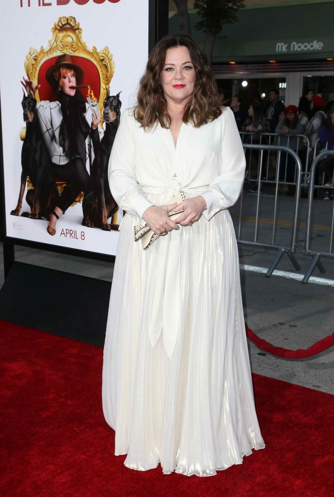 Melissa McCarthy at The Boss World Premiere in Westwood 03/28/2016-2