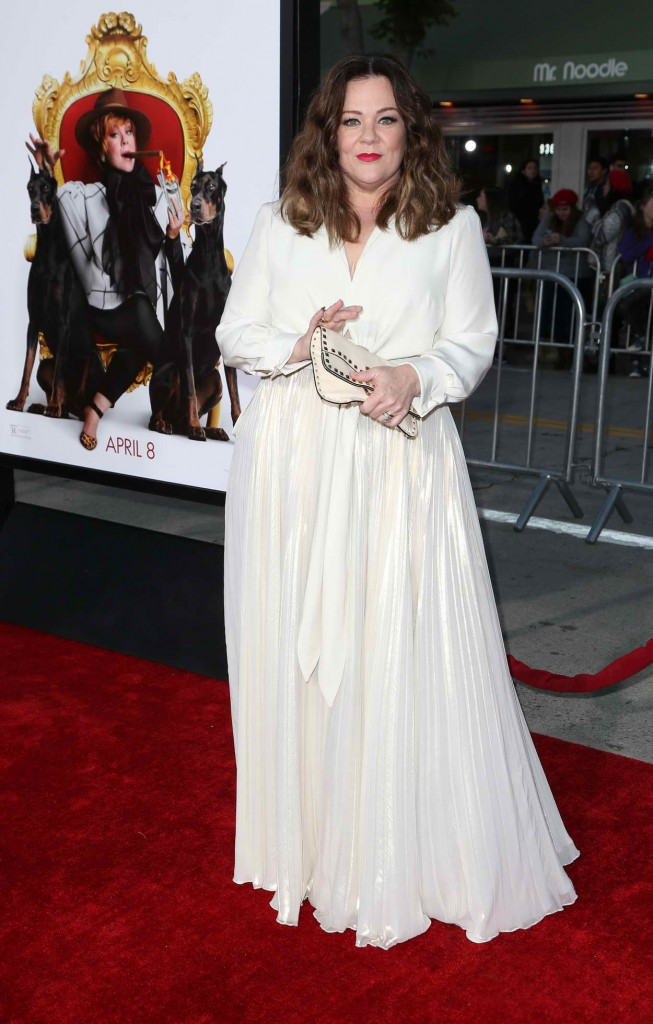 Melissa McCarthy at The Boss World Premiere in Westwood 03/28/2016-3