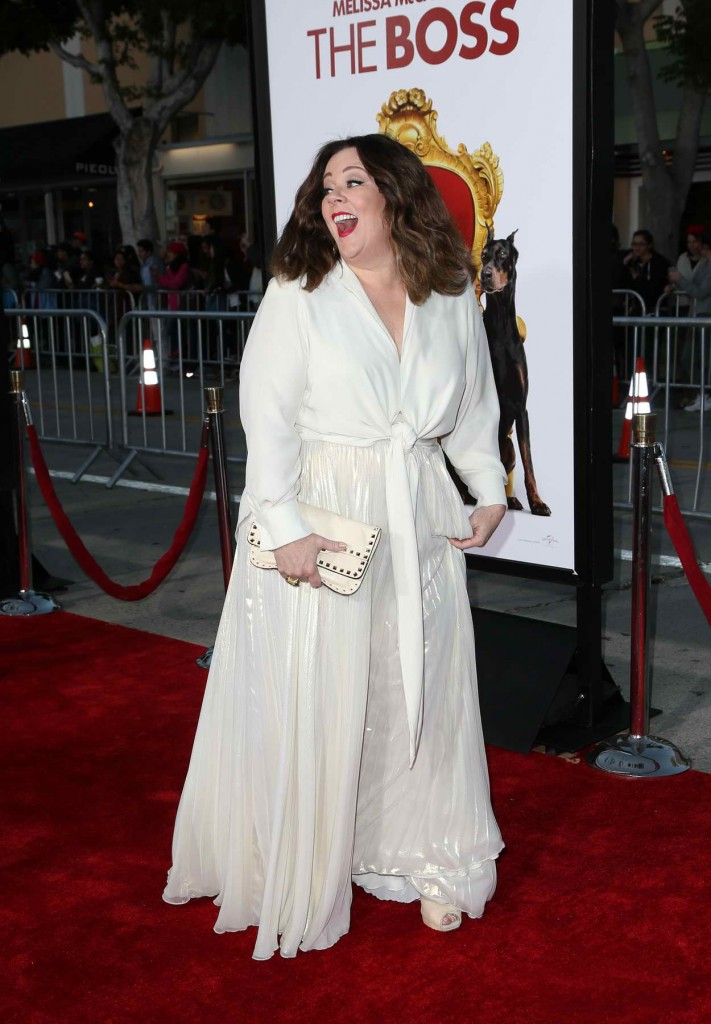 Melissa McCarthy at The Boss World Premiere in Westwood 03/28/2016-4