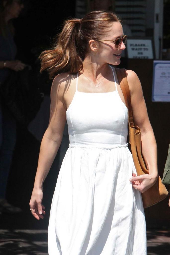 Minka Kelly Heading to a Mauros Cafe in West Hollywood 03/24/2016-1