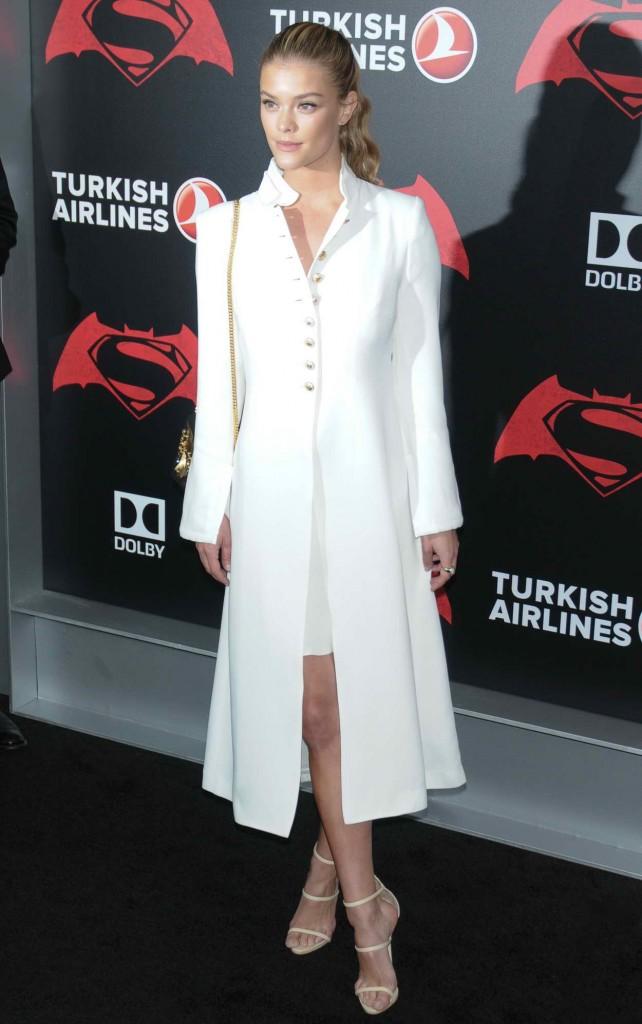 Nina Agdal at Batman V Superman: Dawn Of Justice Premiere in New York City 03/20/2016-2