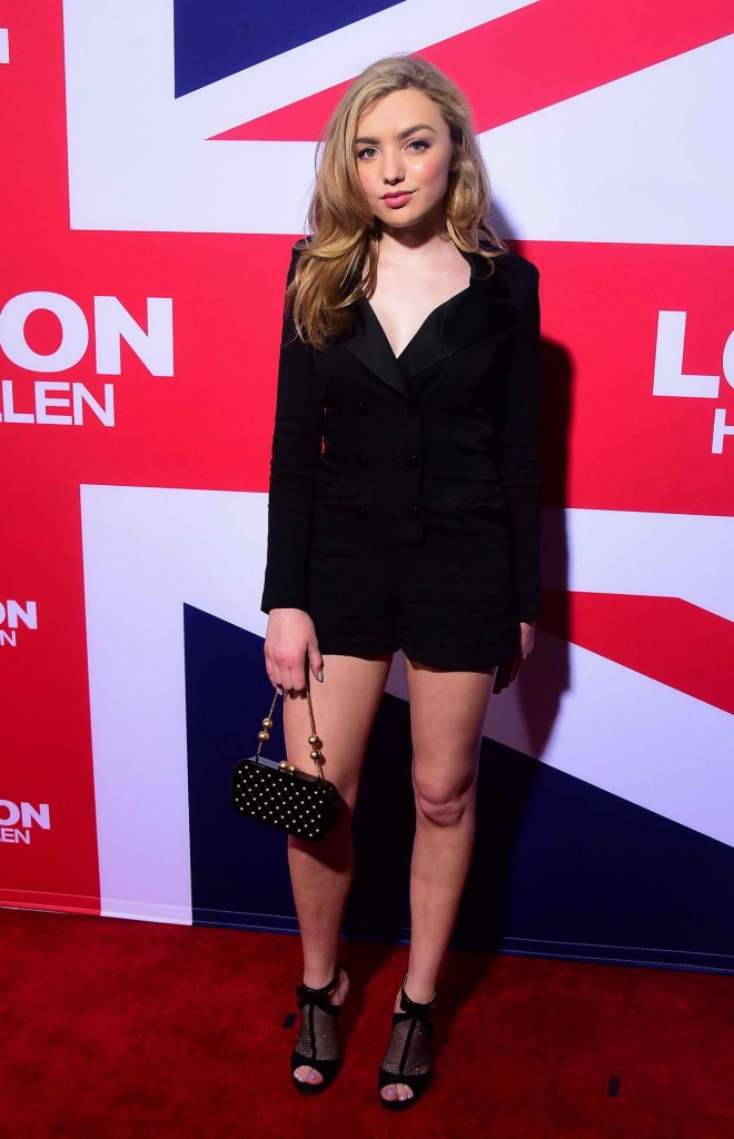 Peyton List at London Has Fallen Premiere at the Arclight Cinemas 03/01/2016-1