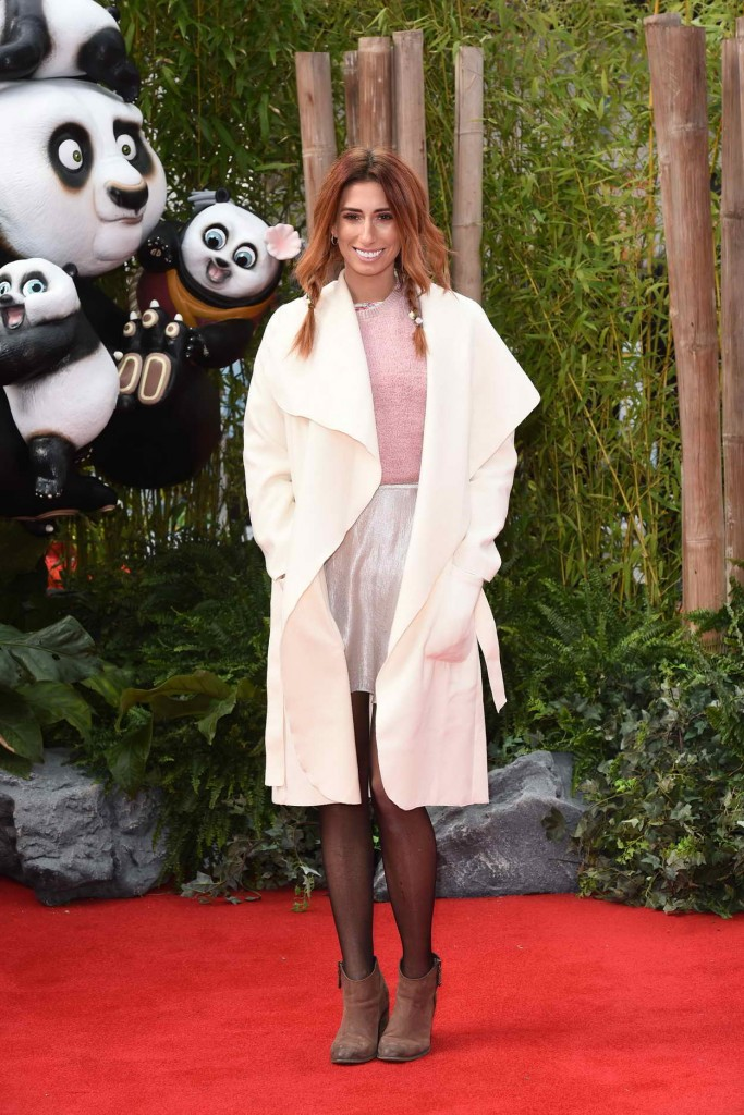 Stacey Solomon Attends the European Kung Fu Panda 3 Premiere in London 03/06/2016-1