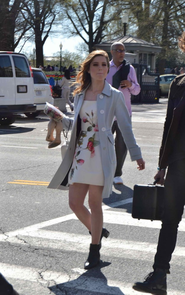 Sydney Sierota Leaving the White House After Performing at the Easter Egg Roll 03/28/2016-1
