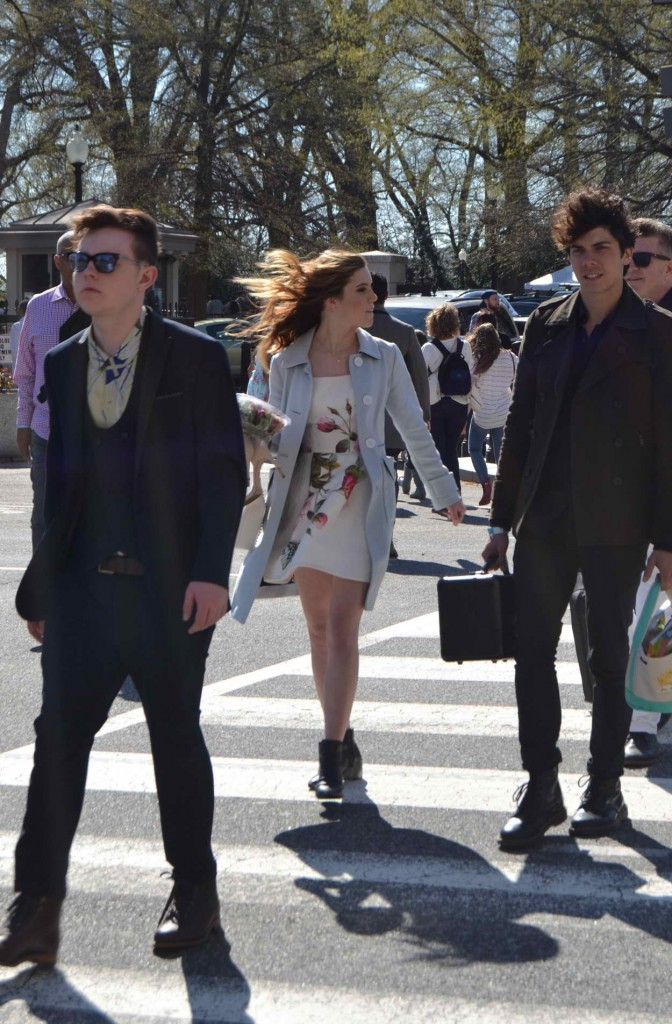 Sydney Sierota Leaving the White House After Performing at the Easter Egg Roll 03/28/2016-3