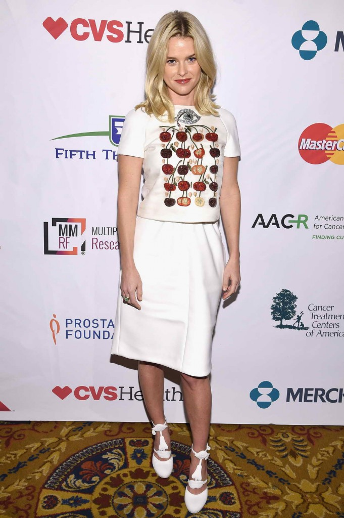 Alice Eve at Cancer's New York Standing Room Only Event in NY 04/09/2016-2