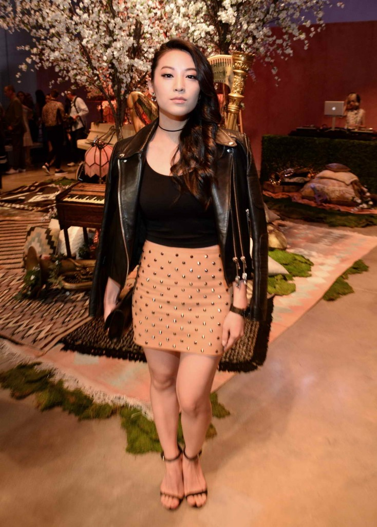 Arden Cho at Alice + Olivia by Stacey Bendet and Neiman Marcus See-Now-Buy-Now Runway Show in LA 04/13/2016-1