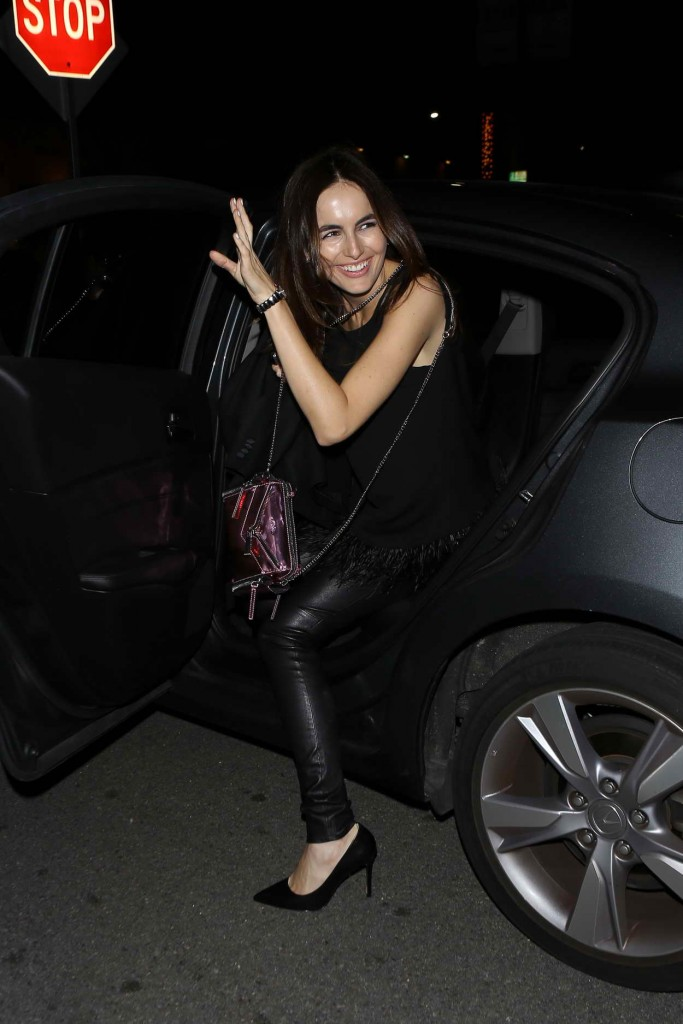 Camilla Belle Arrives at Alessandra Ambrosio Birthday Party at The Nice Guy in West Hollywood 04/13/2016-1
