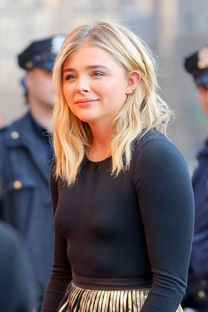 Chloe Moretz at The First Monday in May Premiere at the Tribeca Film Festival in New York 04/13/2016-1