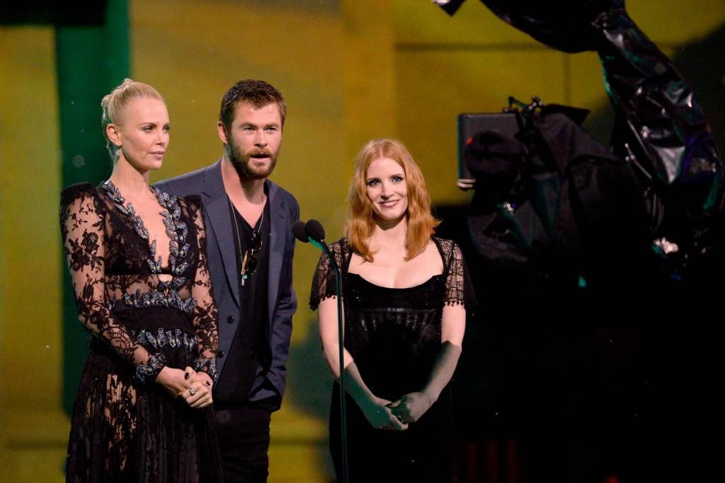 Chris Hemsworth at MTV Movie Awards in Burbank 04/09/2016-3