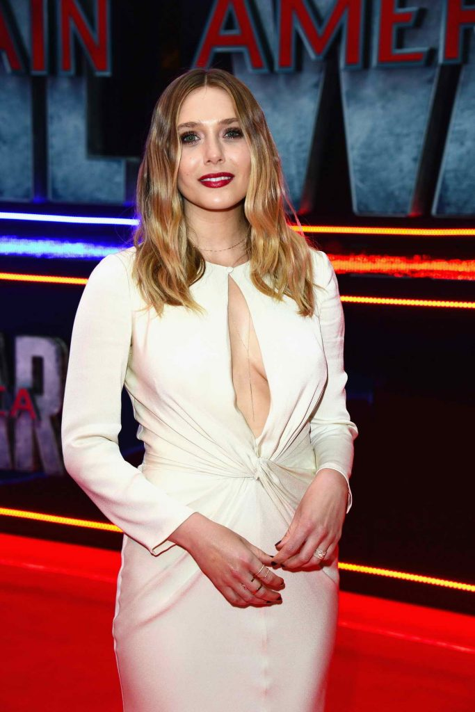 Elizabeth Olsen at the Captain America: Civil War European Premiere in London 04/26/2016-1