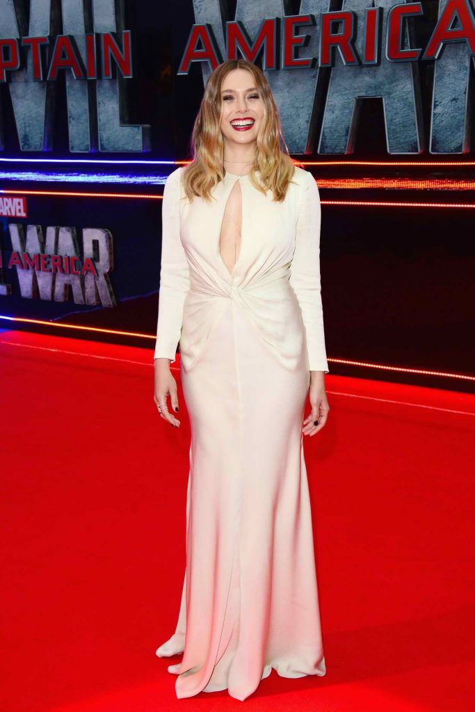 Elizabeth Olsen at the Captain America: Civil War European Premiere in London 04/26/2016-2