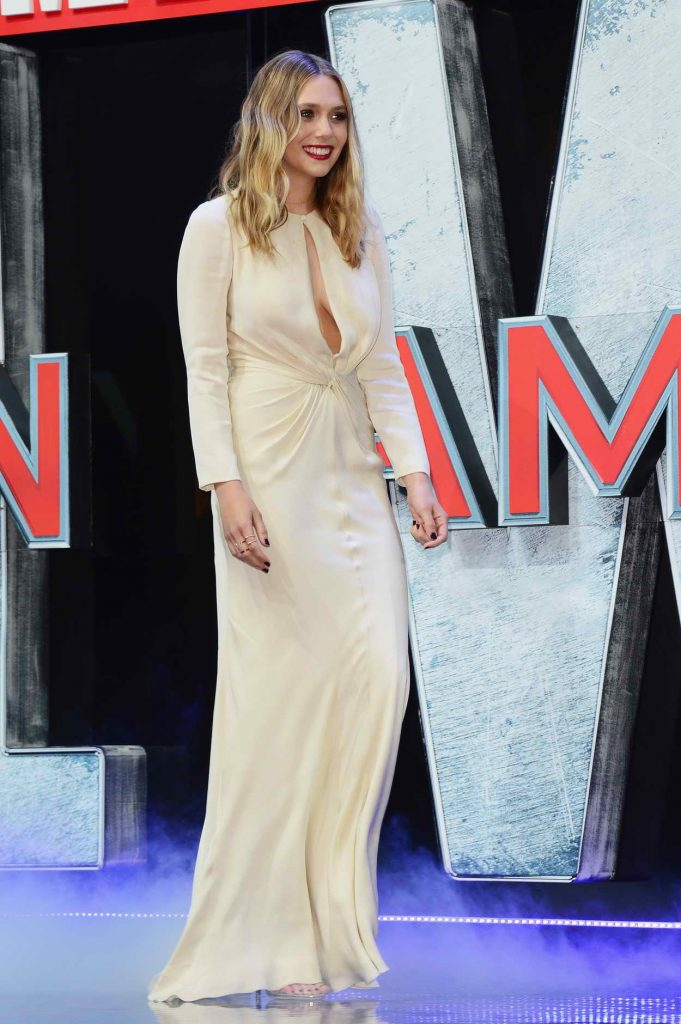 Elizabeth Olsen at the Captain America: Civil War European Premiere in London 04/26/2016-3