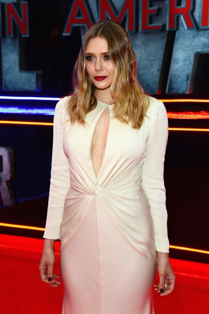 Elizabeth Olsen at the Captain America: Civil War European Premiere in London 04/26/2016-4