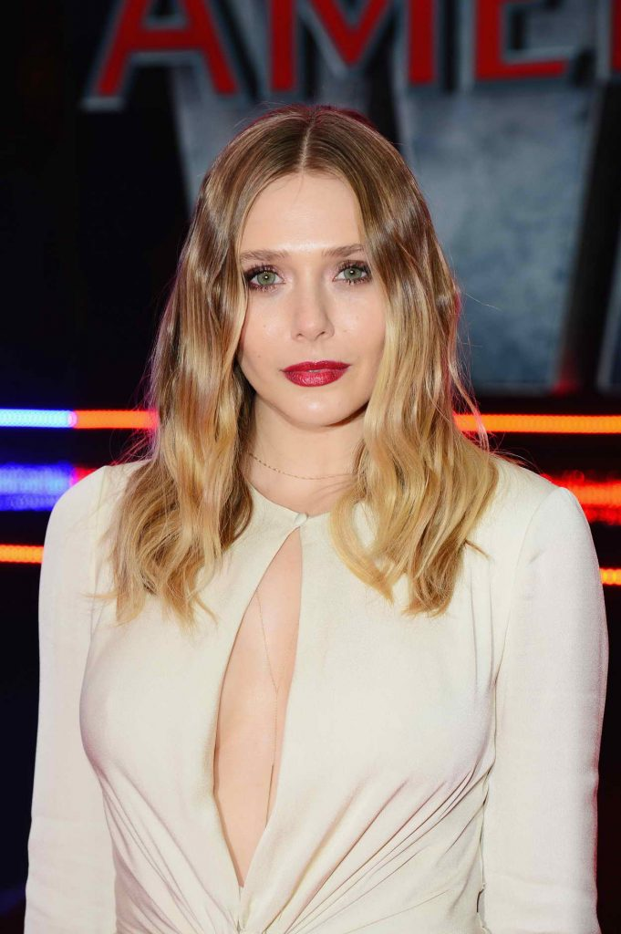 Elizabeth Olsen at the Captain America: Civil War European Premiere in London 04/26/2016-5