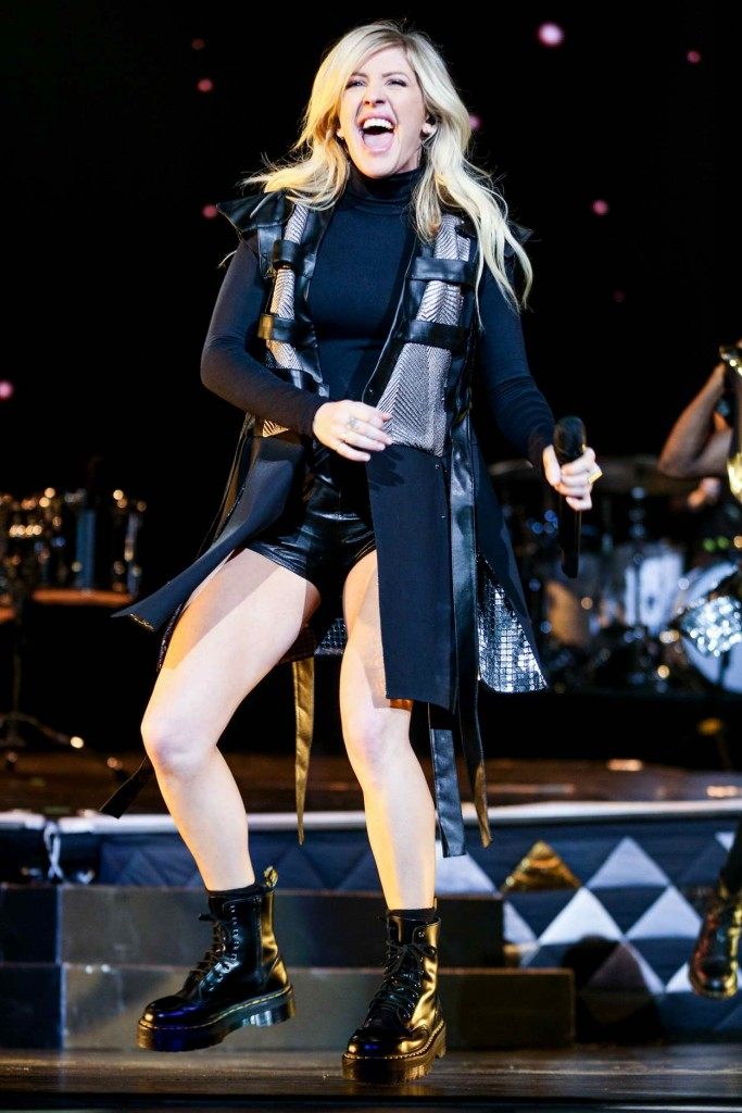 Ellie Goulding Performes at the Staples Center in Los Angeles 04/08/2016-1