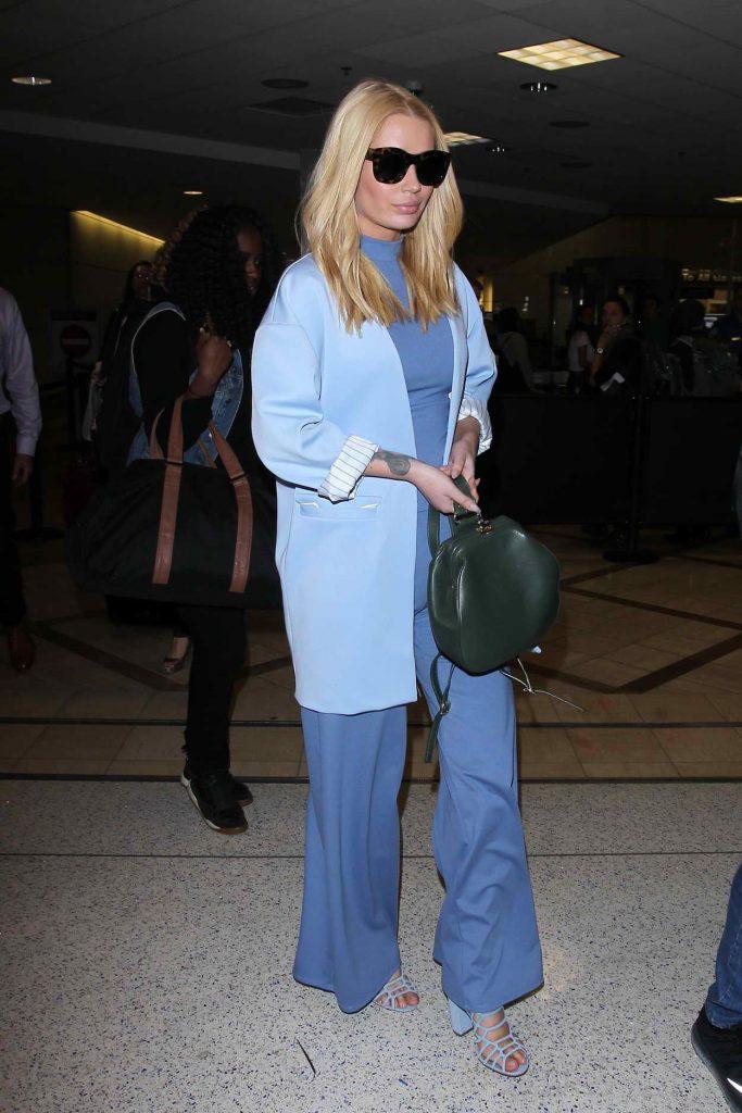 Iggy Azalea Arrives at LAX in Los Angeles 04/21/2016-1