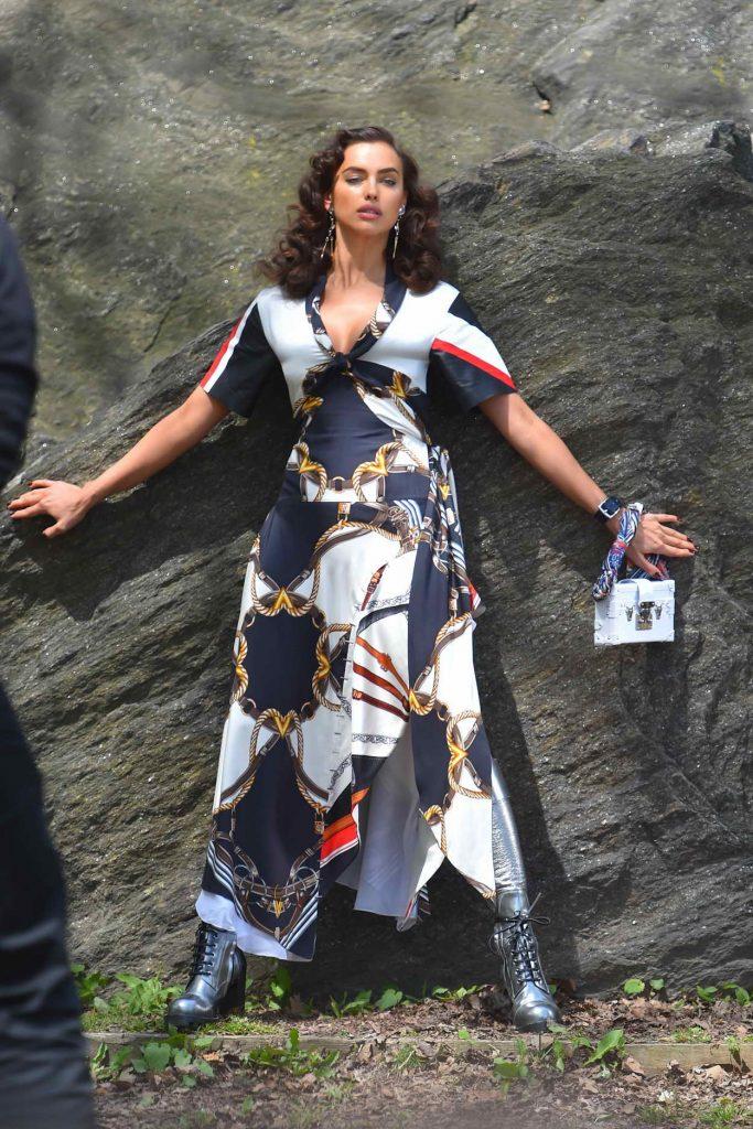Irina Shayk Does a Photoshoot in NY 04/25/2016-1