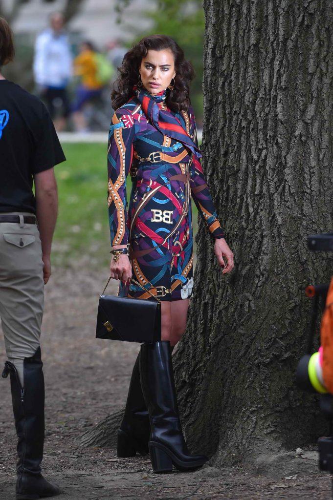 Irina Shayk Does a Photoshoot in NY 04/25/2016-2
