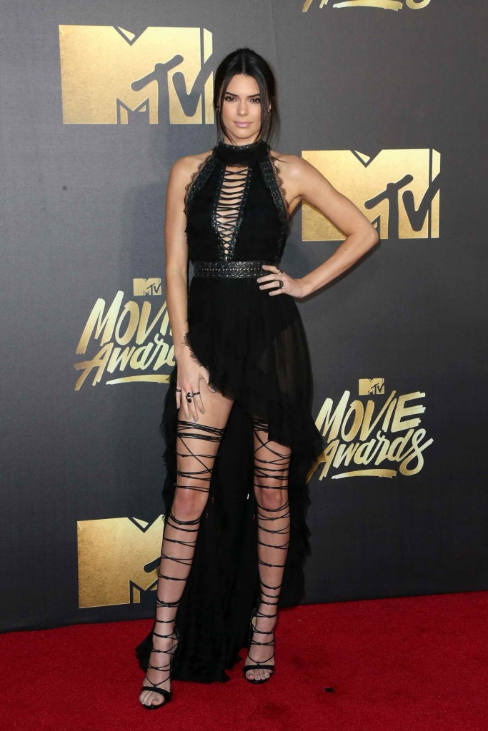 Kendall Jenner at MTV Movie Awards in Burbank 04/09/2016-1