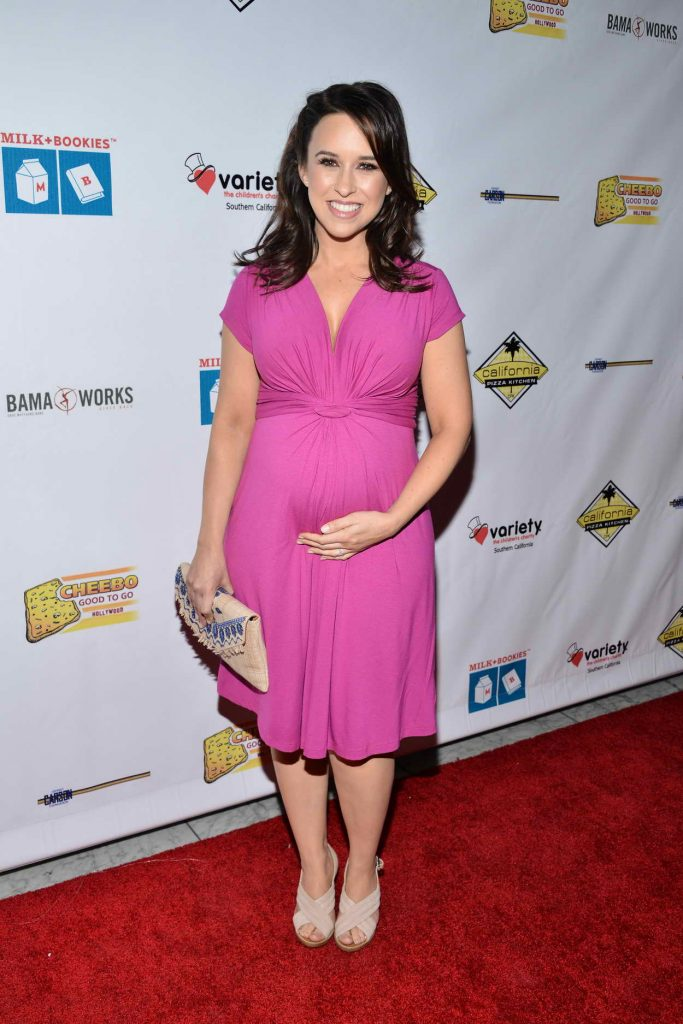 Lacey Chabert at the 7th Annual Milk + Bookies Story Time Celebration at California Market Center in LA 04/17/2016-1