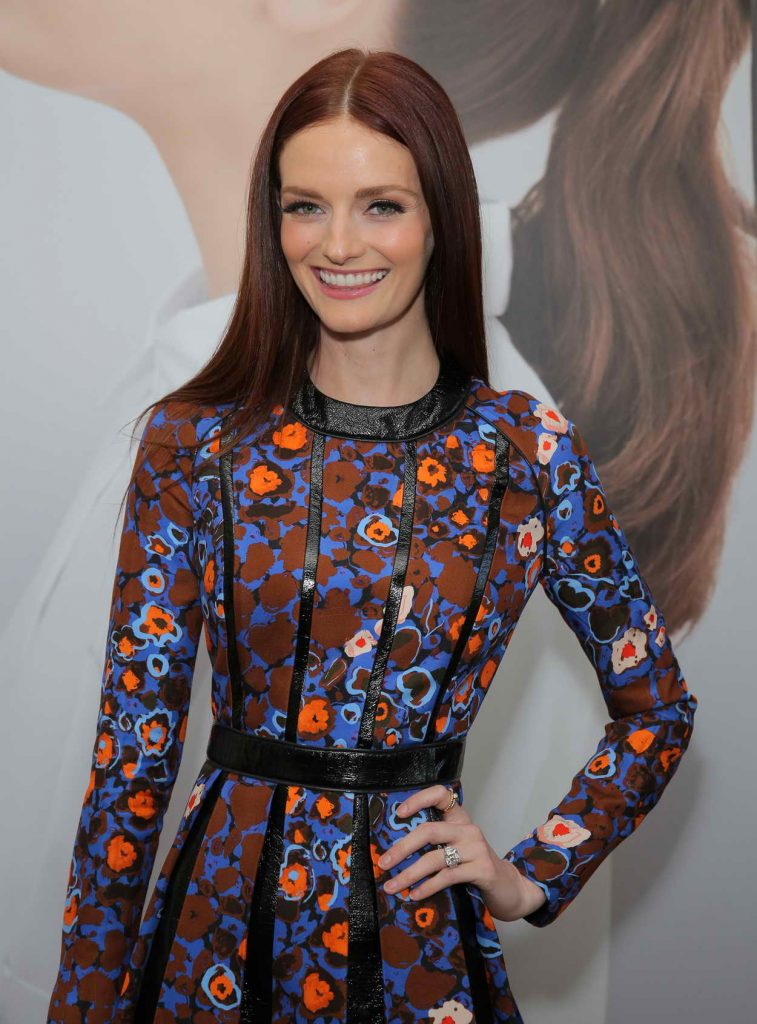 Lydia Hearst at the Harper's Bazaar May Issue Event 04/22/2016-1