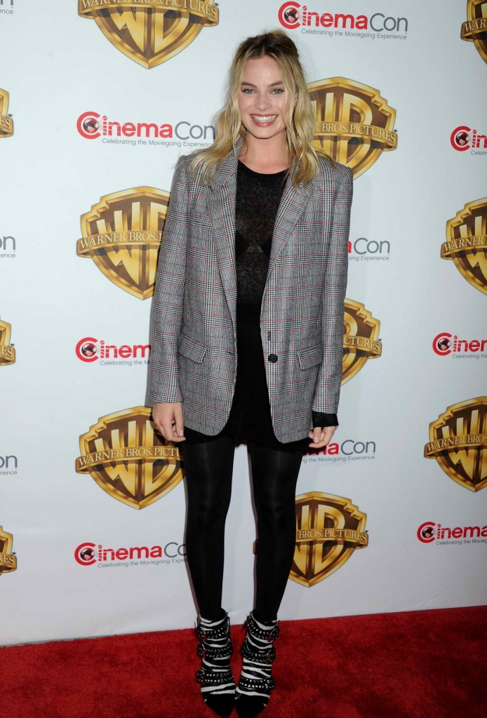 Margot Robbie at the Warner Bros. Pictures The Big Picture Presentation at CinemaCon in Las Vegas 04/12/2016-1