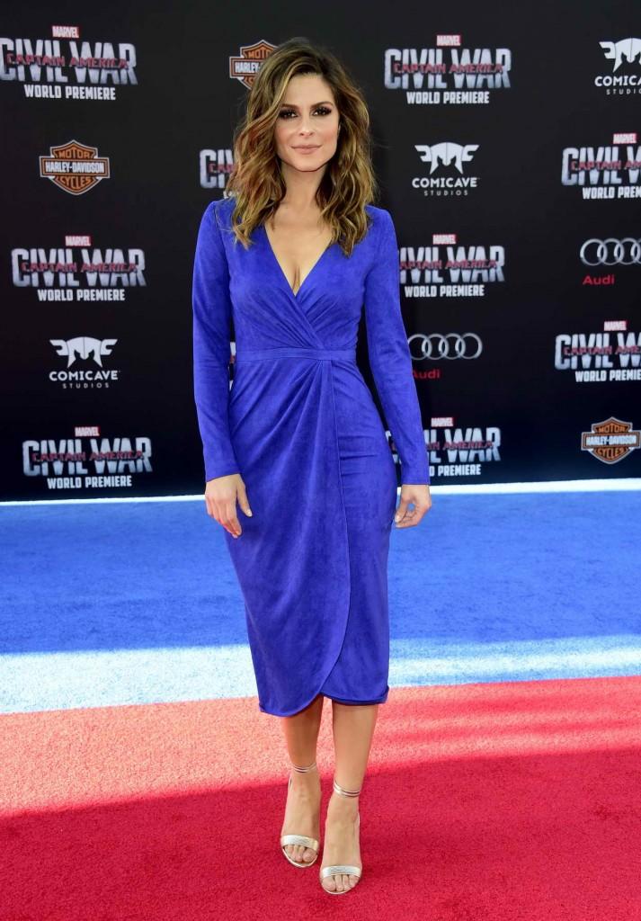 Maria Menounos at the Captain America: Civil War Premiere in Los Angeles 04/12/2016-1