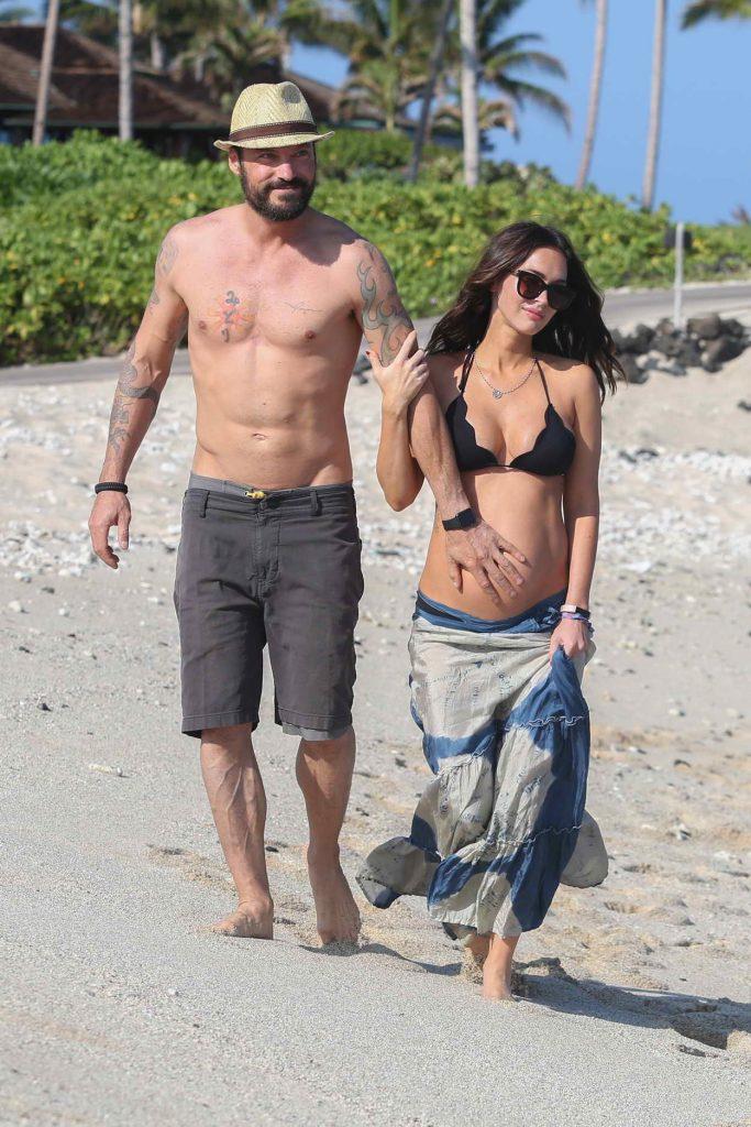 Megan Fox in Bikini at the Beach in Hawaii 04/22/2016-1