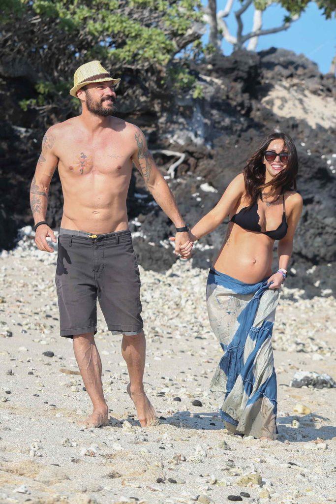 Megan Fox in Bikini at the Beach in Hawaii 04/22/2016-3