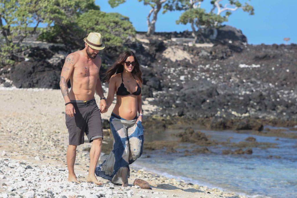 Megan Fox in Bikini at the Beach in Hawaii 04/22/2016-4