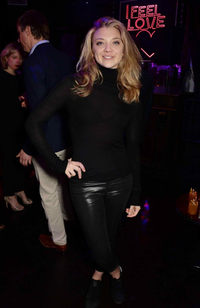 Natalie Dormer at the Doctor Faustus Opening Night Afterparty at The Cuckoo Club in London 04/25/2016-1