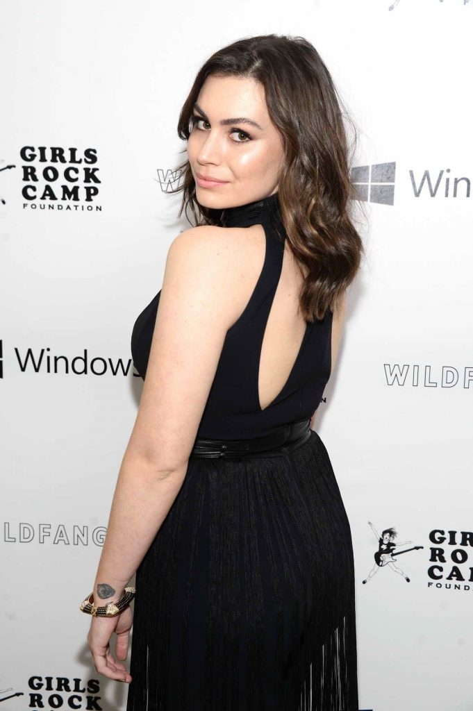 Sophie Simmons at the First Annual Girls To The Front Event Benefiting Girls Rock Camp Foundation in LA 04/29/2016-2