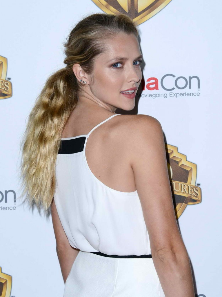 Teresa Palmer at the Warner Bros. Pictures The Big Picture Presentation at CinemaCon in Las Vegas 04/12/2016-4