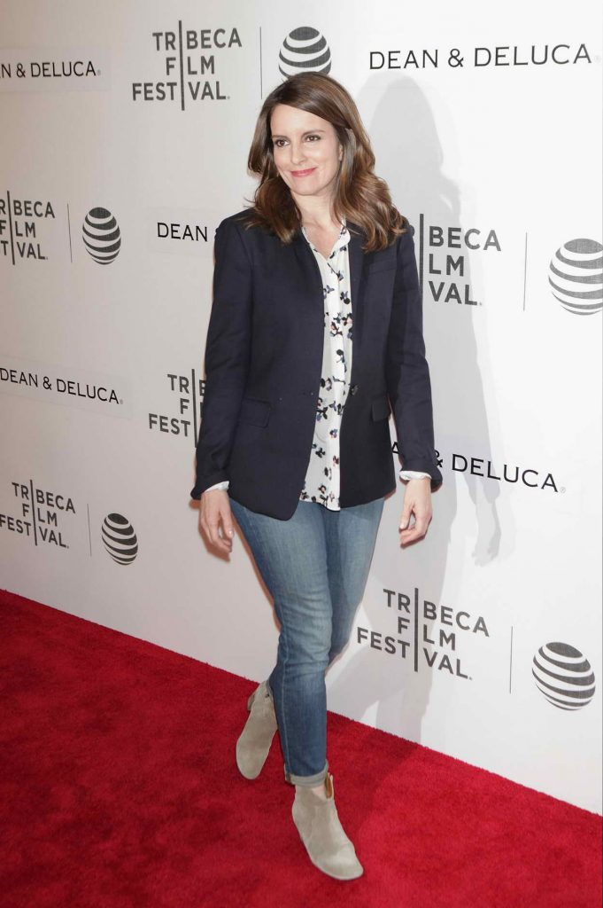 Tina Fey at Tribeca Film Festival in New York City 04/19/2016-2