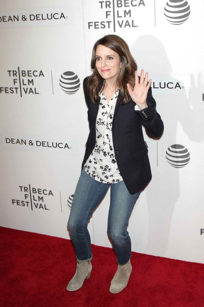Tina Fey at Tribeca Film Festival in New York City 04/19/2016-3