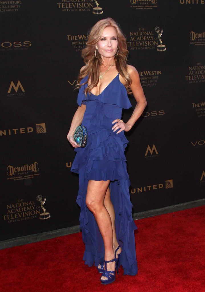 Tracey Bregman at the 43rd Annual Daytime Creative Arts Emmy Awards 2016 in Los Angeles 04/29/2016-2