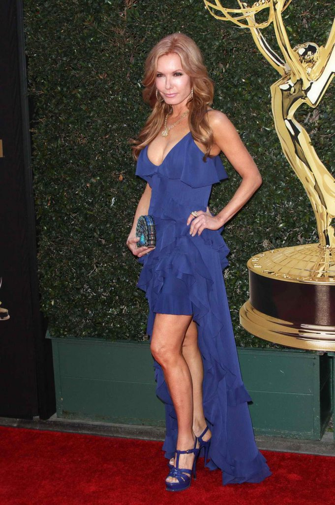 Tracey Bregman at the 43rd Annual Daytime Creative Arts Emmy Awards 2016 in Los Angeles 04/29/2016-3