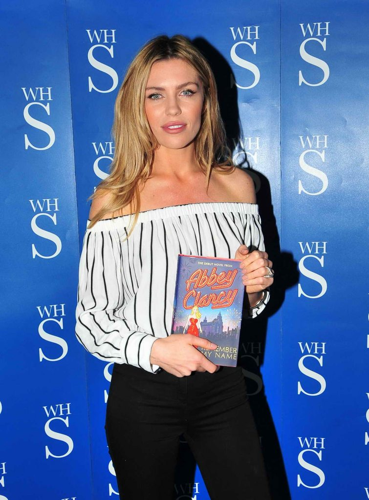 Abbey Clancy Signs Her Book in Liverpool 05/19/2016-1