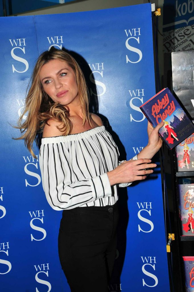 Abbey Clancy Signs Her Book in Liverpool 05/19/2016-4