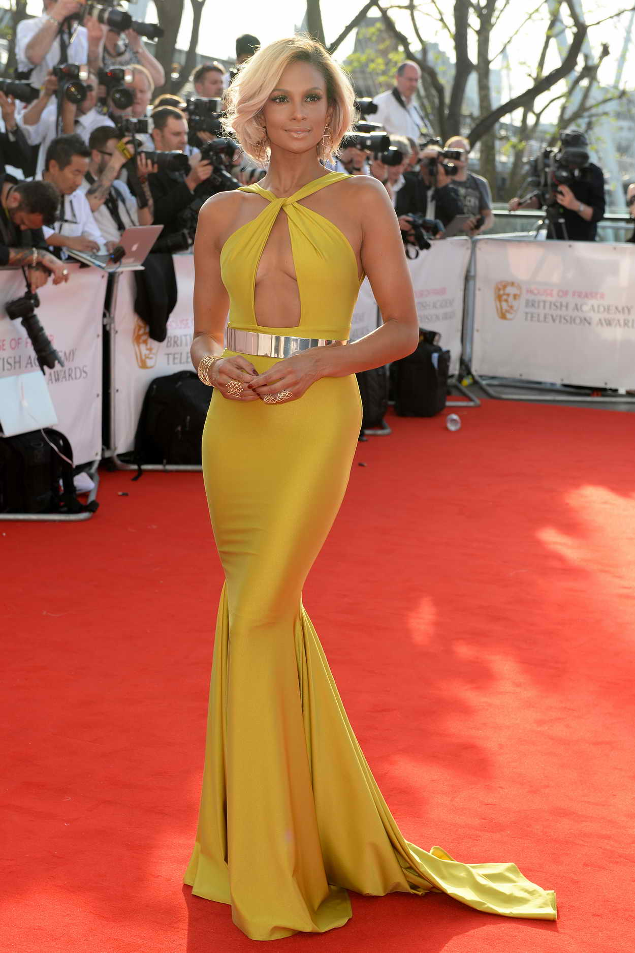 Alesha Dixon At The House Of Fraser Bafta 2016 At Royal Festival Hall In London 05 08 2016
