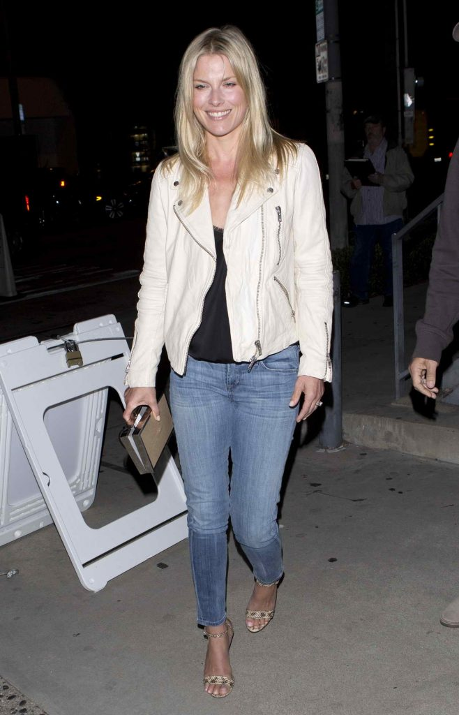 Ali Larter Leaves Gracious Madre Vegan Mexican Restaurant in West Hollywood 05/28/2016-1